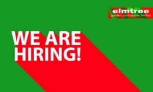 Elmtree Job Vacancy